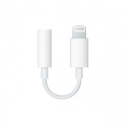 myway adaptador lightning a 3,5 mm blanco