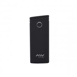 Myway power bank 5000 mAh USB 2 puertos 1A +2.1A cable USB-Micro USB negro