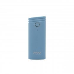 Myway power bank 5000 mAh USB 2 puertos 1A + 2.1A cable USB-Micro USB azul