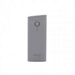 Myway power bank 5000 mAh USB 2 puertos 1A +2.1A cable USB-Micro USB gris