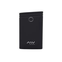 Myway power bank 7500 mAh USB 2 puertos 1A + 2.1A cable USB-Micro USB negro