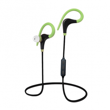 Myway auriculares estéreo wireless sport verde