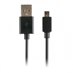 Myway cable USB-Micro USB 1A 1m negro