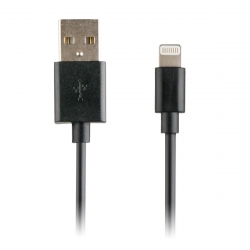 Myway cable USB-Lightning 1A 1m negro