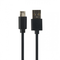 Myway cable USB-Lightning/Tipo C 1A 1m negro