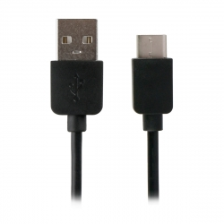 Myway cable USB-Tipo C 1A 1m negro