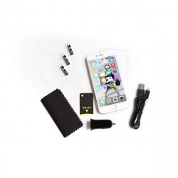 Vodafone pack iPhone 6/6S (Funda, Cargador coche USB, cable USB, Prottector Pantalla)