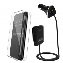 Pack Coche Especial iPhone Xs/X (PUCC027+XDS36007)