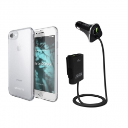Pack Coche Especial iPhone 8/7 (PUCC027+XDS36001)
