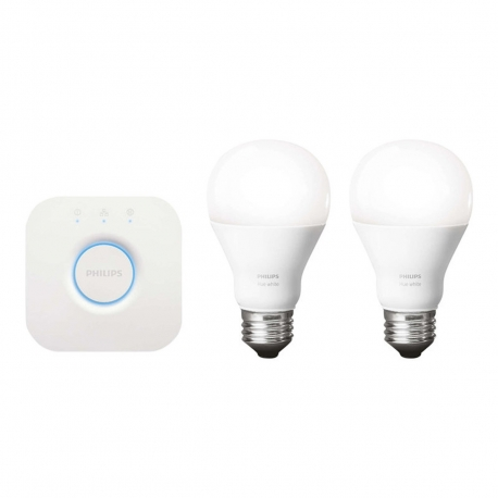 Philips Hue Starter Kit Lux Connected White 9W A60 E27