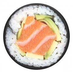 PopSockets soporte adhesivo Salmon Roll