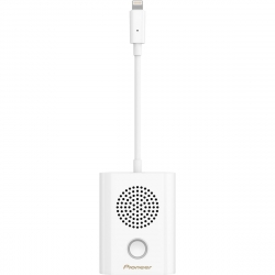 Pioneer Rayz Rally Ice altavoz para conferencias lightning blanco