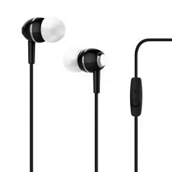 Puro auriculares estéreo 3,5mm negro