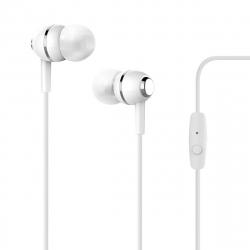 Puro auriculares estéreo 3,5mm blanco