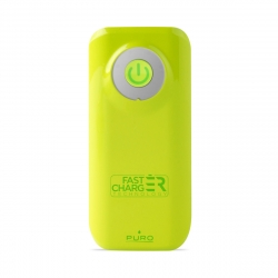 Puro power bank 4000 mAh 2 puertos 2.4A cable USB-Micro USB fast charge lima