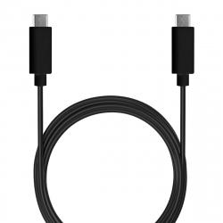 Puro cable Tipo C-Tipo C 3A 1m negro