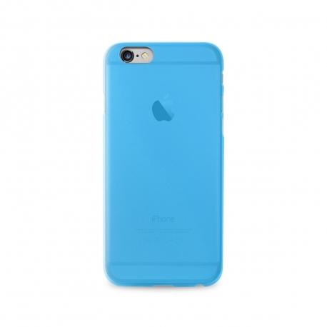 Puro funda 0,3 Apple iPhone 6S/6 azul + protector pantalla flexible