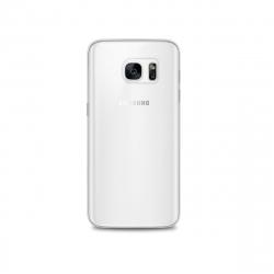 Puro carcasa 0,3 Samsung Galaxy S7 transparente + protector pantalla flexible