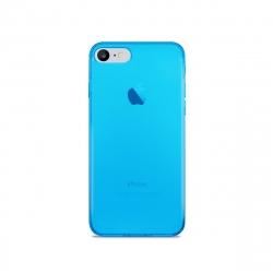 Puro funda Nude 0.3 Apple iPhone 8/7 fluo azul