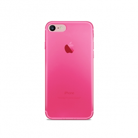 Puro funda Nude 0.3 Apple iPhone 8/7 fluo rosa
