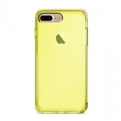 Puro funda Nude 0.3 Apple iPhone 8 Plus/7 Plus fluo amarillo