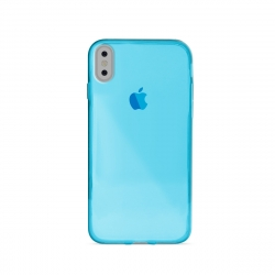Puro funda Nude 0.3 Apple iPhone Xs/X azul