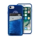 Puro carcasa Shine Apple iPhone 8/7/6S/6 azul