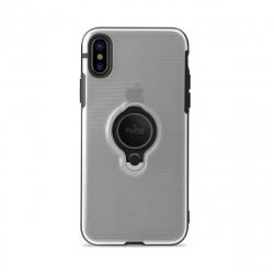 Puro carcasa anillo Apple iPhone Xs/X función soporte magnético transparente