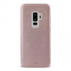 Puro funda Shine Samsung Galaxy S9 Plus oro rosa