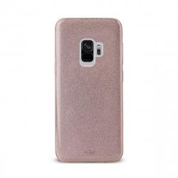 Puro funda Shine Samsung Galaxy S9 oro rosa