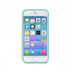 Puro funda Bumper Apple iPhone 6S Plus/6 Plus turquesa + protector pantalla flexible