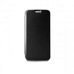 Puro funda Wallet Samsung Galaxy S7 con tarjetero negra