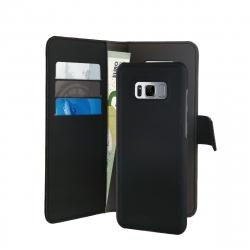 Puro funda folio Samsung Galaxy S8 + carcasa extraíble negra