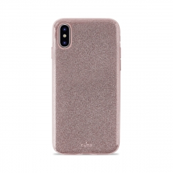 Puro funda Shine Apple iPhone Xs/X oro rosa