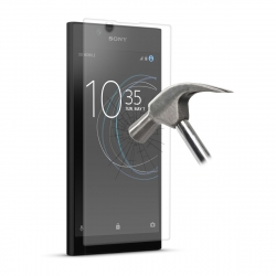 Puro protector pantalla Sony Xperia L1 vidrio templado plano