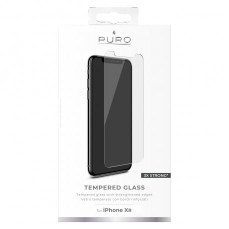 puro protector pantalla Apple iPhone XR vidrio templado