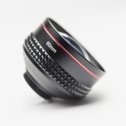 Pixter lente universal teleobjetivo para smartphones