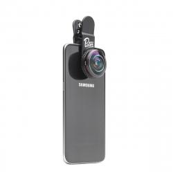 Pixter lente universal super ojo de pez pro para smartphones
