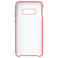 Samsung funda silicona Samsung Galaxy S10e rosa berry