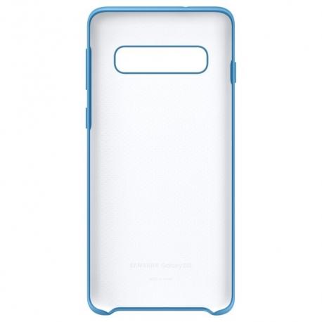 Samsung funda silicona Samsung Galaxy S10 azul