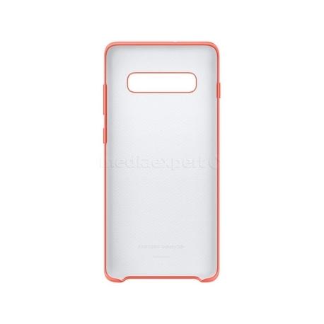 Samsung funda silicona Samsung Galaxy S10+ rosa berry