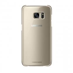 Samsung carcasa Clear Samsung Galaxy S7 Edge oro