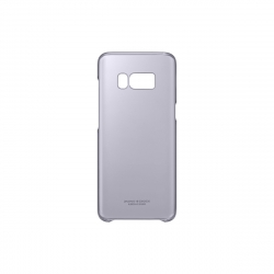 Samsung carcasa Clear Samsung Galaxy S8 violeta