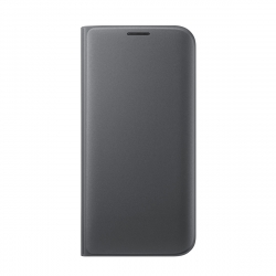 Samsung funda Flip Wallet Samsung Galaxy S7 Edge con ranura para tarjetas negra