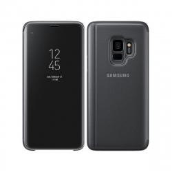 Samsung funda Clear View Samsung Galaxy S9 función soporte negra