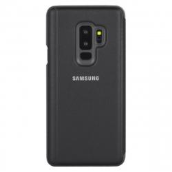 Samsung funda Clear View Samsung Galaxy S9 Plus función soporte negra