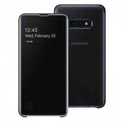 Samsung clear view cover Samsung Galaxy S10e negra