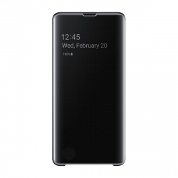Samsung clear view cover Samsung Galaxy S10+ negra