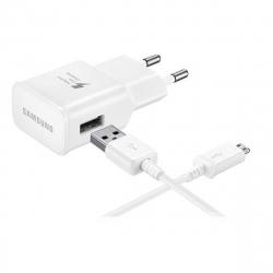 Samsung pack transformador USB 2A + Cable USB-Micro USB blanco