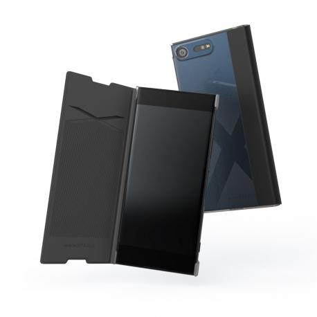 Made for Xperia funda Folio Sony Xperia XA1 negra